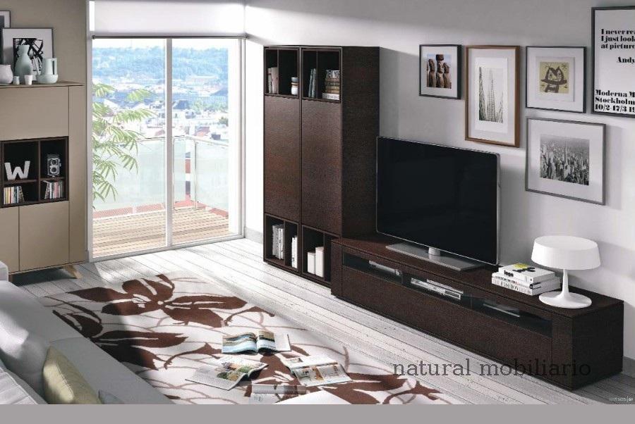 Muebles Modernos chapa natural/lacados salon moderno brit 1-672-722