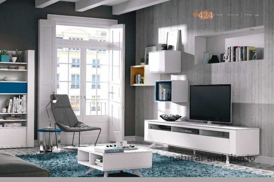Muebles Modernos chapa natural/lacados salon moderno brit 1-672-723
